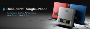 Dual mpp tracking single fase